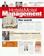 HOTEL & MOTEL MANAGEMENT magazine