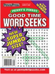 Penny's Finest Good Time Word Seeks magazine