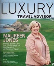 LUXURY TRAVEL ADVISOR magazine
