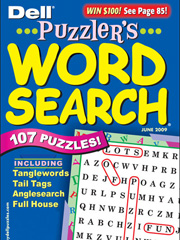 PUZZLER'S WORD SEARCH magazine