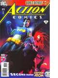 ACTION COMICS magazine